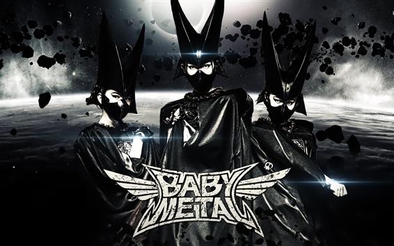 Обои Babymetal, японские девушки группа 03