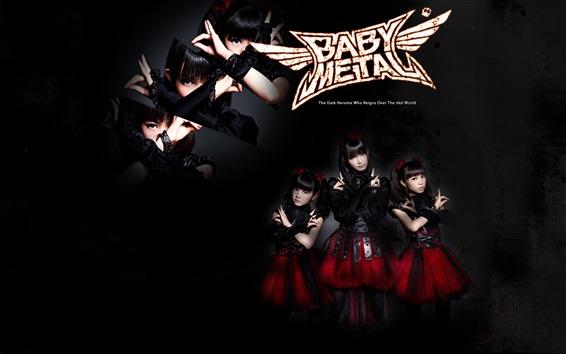 Hintergrundbilder Babymetal , japanische Mädchengruppe  06