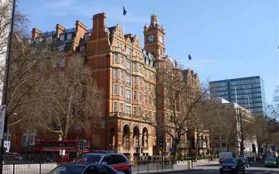 Papéis de Parede Baker Street, edifícios, rua, Inglaterra