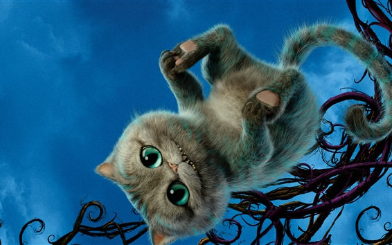 Fond d'écran Cheshire Cat, Alice Through the Looking Glass 2016