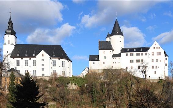 Обои Церковь, Шварценберг, Германия