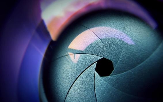 Papéis de Parede Close-up da câmera do obturador de abertura da objectiva