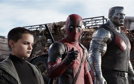 Wallpaper Deadpool, Fox movie