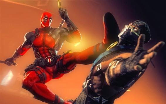 Wallpaper Deadpool, Marvel comics superhero