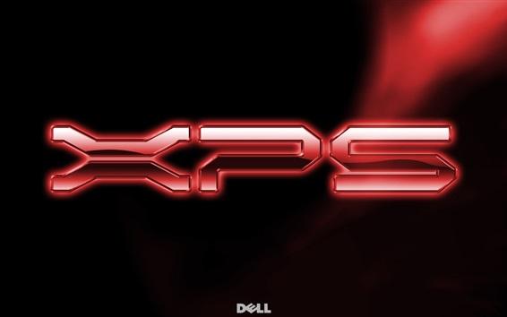 Wallpaper Dell XPS logo