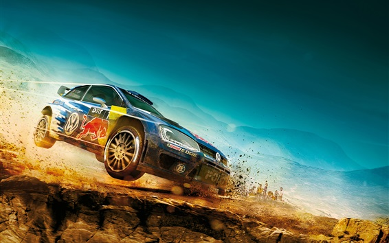 Wallpaper DiRT Rally, Volkswagen Polo car, sports, racing