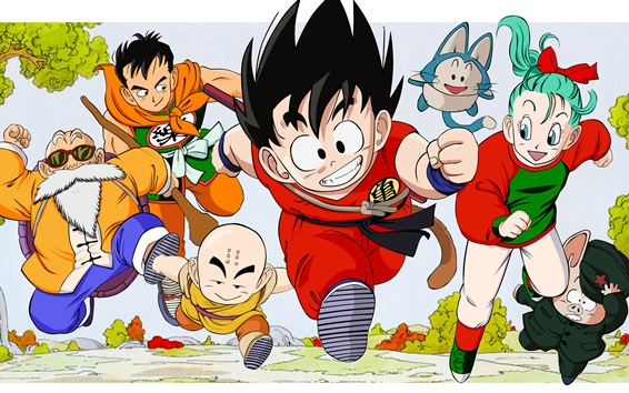 Wallpaper Dragon Ball, classic anime