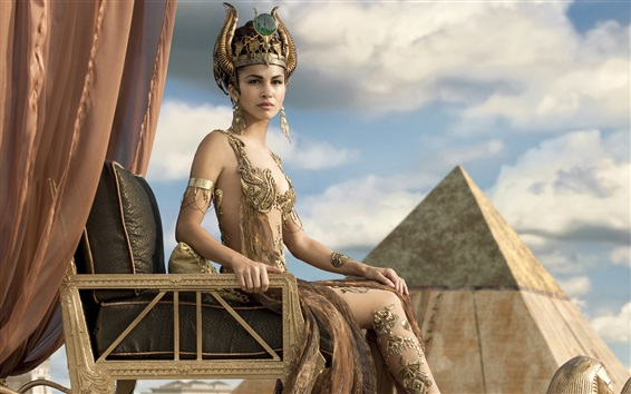 Wallpaper Elodie Yung as Hathor in Gods of Egypt
