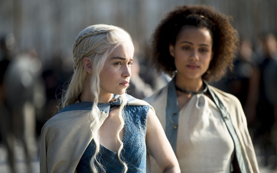 Fondos de pantalla Emilia Clarke, Juego de tronos, serie de televisión