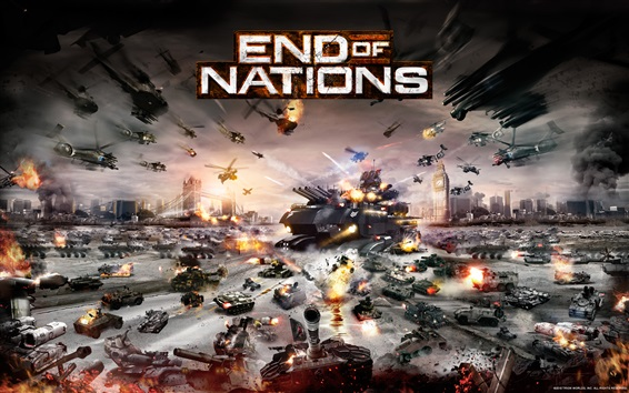 Wallpaper End of Nations PC game