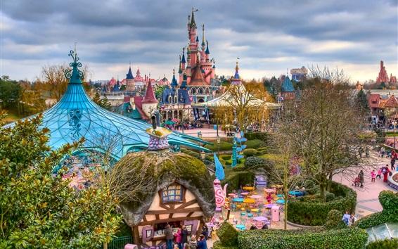 Papéis de Parede Fantasyland, Disneyland, Paris, França