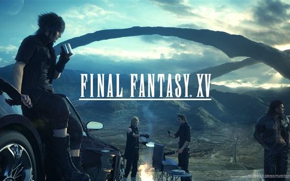Wallpaper Final Fantasy XV PS4 game