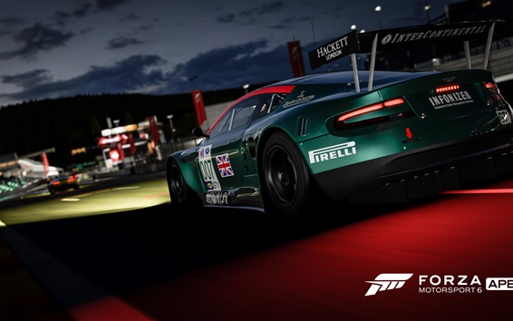Wallpaper Forza Motorsport 6, Xbox game
