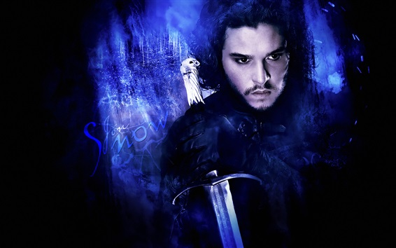 Wallpaper Game of Thrones, Jon Snow