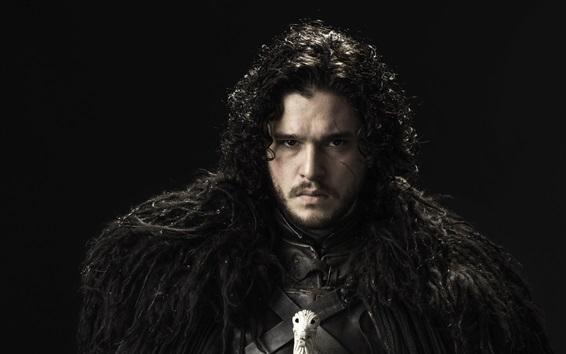 Wallpaper Game of Thrones, Kit Harington as Jon Snow