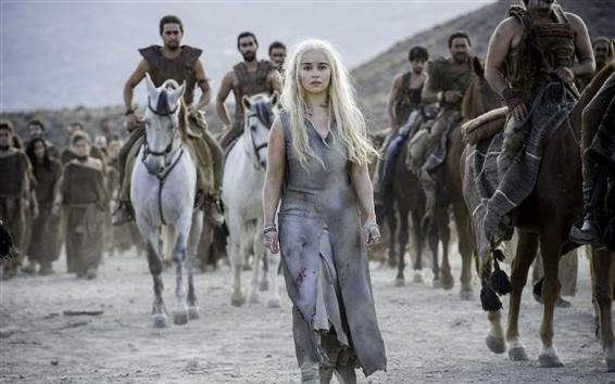 Wallpaper Game of Thrones, Season 6, Emilia Clarke