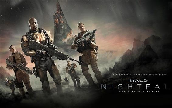 Wallpaper Halo: Nightfall, TV series