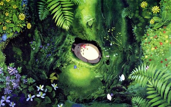 Fondos de pantalla Hayao Miyazaki, Mi vecino Totoro, para conciliar el sueño