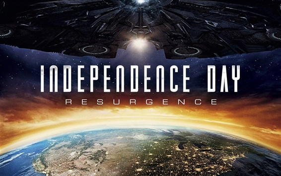 Wallpaper Independence Day: Resurgence, 2016 movie