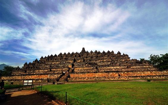 Papéis de Parede Património Mundial Indonésia, Yogyakarta