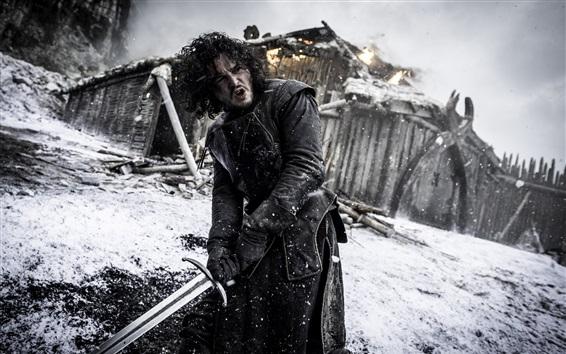 Papéis de Parede Jon Snow, Game of Thrones, série de TV