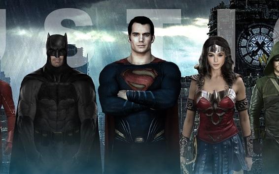 Fondos de pantalla Liga de la Justicia 2017 HD