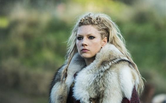 Wallpaper Katheryn Winnick in Vikings