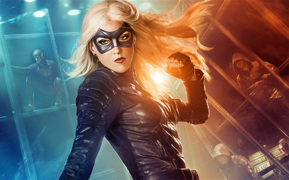Wallpaper Katie Cassidy as Black Canary, Arrow TV series