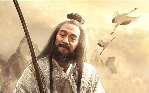 Fondos de pantalla Liga de los dioses de 2016, Jet Li, película china