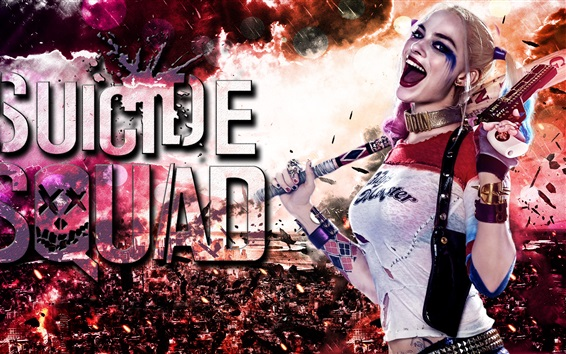Wallpaper Margot Robbie In Suicide Squad 2016 HD, Picture