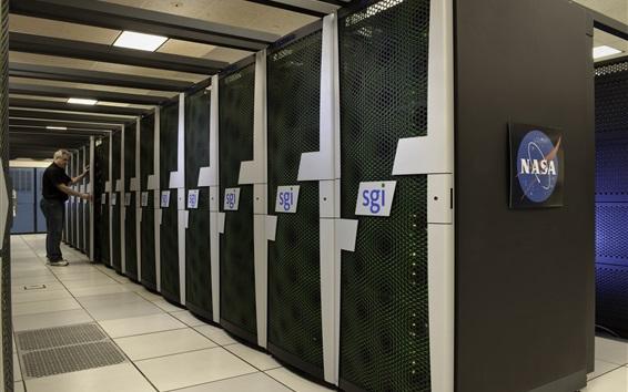 Fond d'écran NASA superordinateur