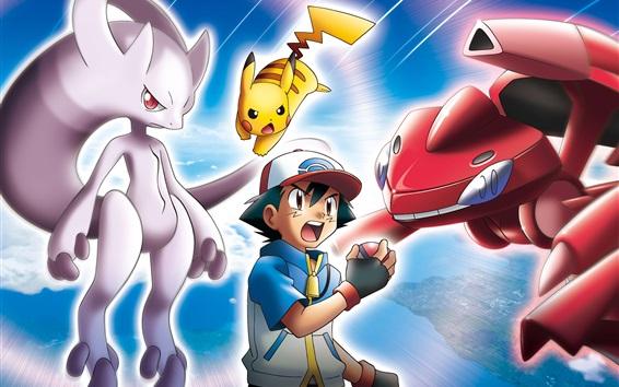 Fond d'écran Pokemon, anime classique