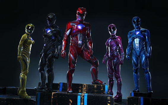 Обои Power Rangers 2017 года