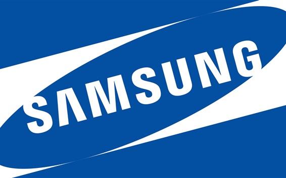 Обои Samsung логотип