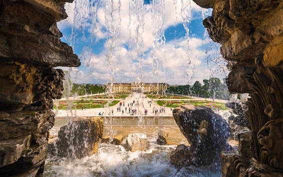Wallpaper Schonbrunn Palace, Vienna, Austria