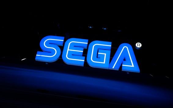 Wallpaper Sega logo