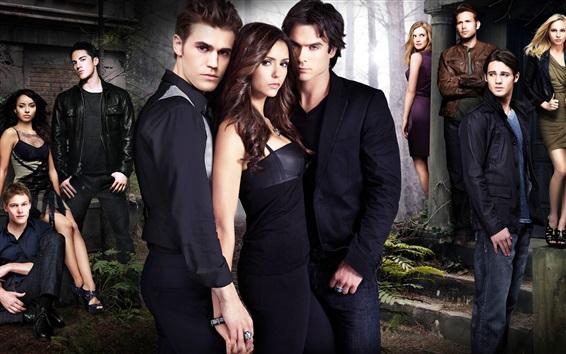 Papéis de Parede série de TV, The Vampire Diaries HD