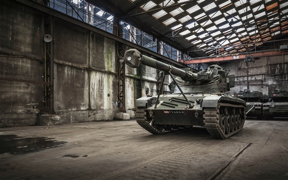 Wallpaper Tank, army weapon, factory