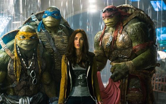 Wallpaper Teenage Mutant Ninja Turtles 2016