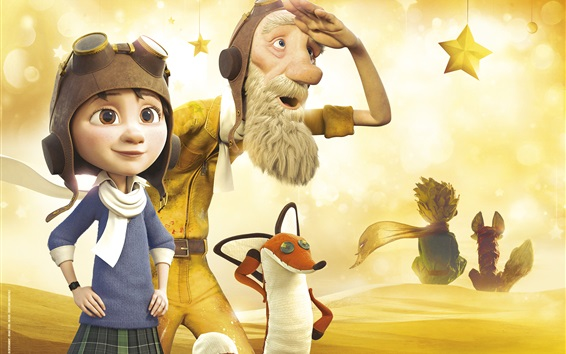 Wallpaper The Little Prince 2015 cartoon movie