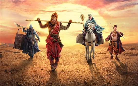 Wallpaper The Monkey King 2, Chinese movie 2016