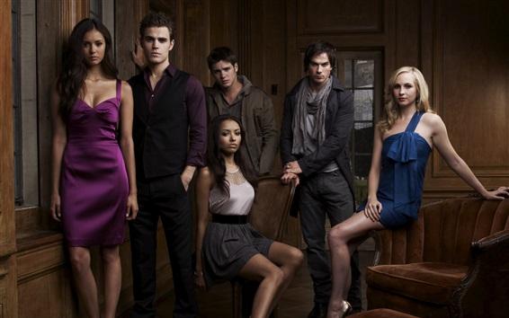 Fondos de pantalla La serie de televisión The Vampire Diaries, CW