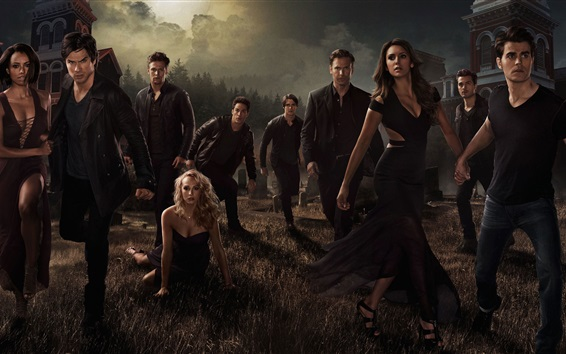 Fondos de pantalla The Vampire Diaries, la temporada 7