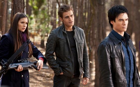 Fondos de pantalla The Vampire Diaries, Ultra HD