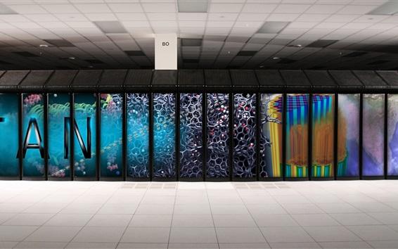 壁紙 タイタンのスーパーコンピュータ