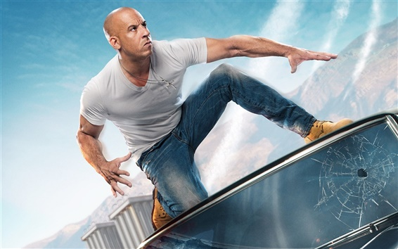 Wallpaper Vin Diesel, Fast and Furious