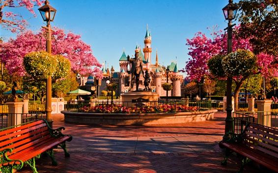 Wallpaper Welcome to Disneyland