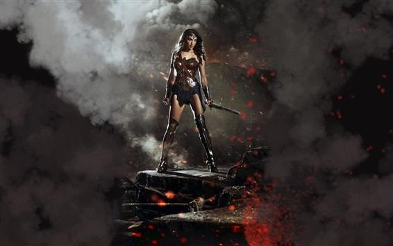 Wallpaper Wonder Woman in Batman v Superman 2016