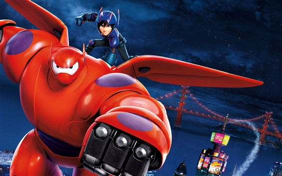 Fondos de pantalla 2014 Big Hero 6
