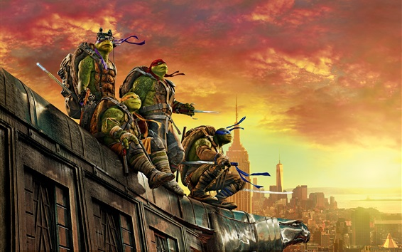 Wallpaper 2016 Teenage Mutant Ninja Turtles: Out of the Shadows
